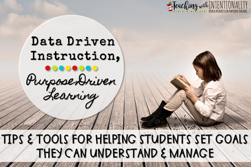 Data Driven Instruction, Purpose Driven Learning