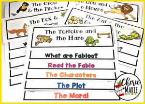 Here are 5 reasons why fables make teaching key reading standards much easier for students to understand.